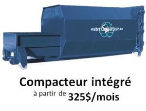 compacteur intégré 34 vc