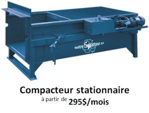 compacteur stationnaire
