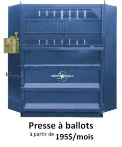 presse à ballots